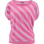 3Suisses Pruhované tričko s krátkými rukávy růžová 34/36