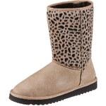 Esprit Boots mit Animal Print