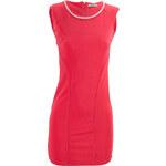 G&Y Lososové šaty se stříbrným řetízkem