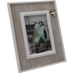 StarDeco Dřevěný foto rámeček