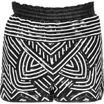 Emilio Pucci Patterned Leather Shorts