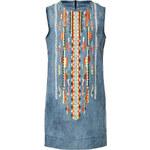 Antik Batik Embroidered Denim Dress