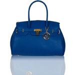 GbyG kožená kabelka modráGlamorous by Glam