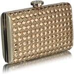 LS Bags psaníčko Zlatý diamant, dárkové balení