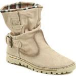 Weinbrenner W1775z02 béžové dámské boty