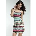 DAMSON Letní barevné šaty Uni(S-L)