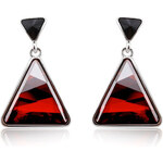 Vicca® Náušnice Triangle Red OI_441005_red