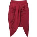 Bordová sukně Mata Hari L