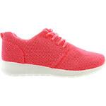 Lesara Sneaker im Mesh-Look - Fuchsia - 36