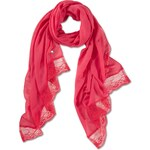s.Oliver Voile scarf with lace