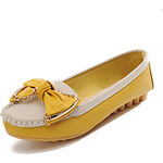 LightInTheBox Faux Leather Women's Flat Heel Comfort Loafers with Bowknot Shoes(More Colors)