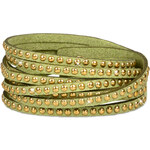 Troli Náramek Wrap Metal 4x Green