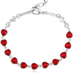 Vicca® Náramek Little Red Hearts OI_340205_red