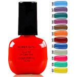 LightInTheBox Super Girl Gorgeous Soak Off UV Color Gel No.37-48 (1PCS 7ml, Assorted Colors)