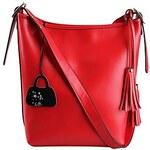 LightInTheBox Woman Trendy Cowhide Handbag