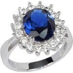 Silvego Stříbrný prsten princezny Kate TXR903091 52 mm