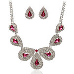 LightInTheBox Beautiful Alloy With Rhinestones Jewelry Set,Including Necklace And Earrings