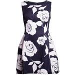 Dámské elegantní šaty s květy - A střih - MDue Linee