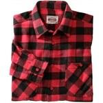 Blancheporte Kostkovaná flanelová košile