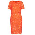 Topshop Premium Lace Pencil Dress