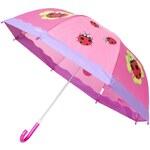 Playshoes - Dětský deštník - sytě růžová