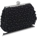 LS fashion společenská kabelka vintage LSE00296 černá