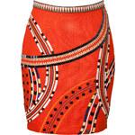 Elle Sasson Embroidered Skirt