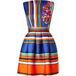 Alberta Ferretti Striped Dress
