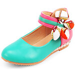LightInTheBox Girls' Faux Leather Flat Heel Mary Jane Flats Shoes With Magic Tape
