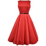 Lady Vintage RETRO DÁMSKÉ ŠATY Red Hepburn Velikost: 40