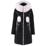 Luxusní péřová bunda s kožešinou Snowimage