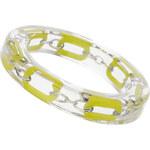 Topshop Transparentes Armband mit gelben Gliedern - Limette