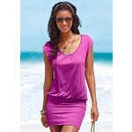 BEACH TIME Dlouhé dámské tričko, Beachtime jahodová
