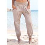 BUFFALO LONDON Plážové kalhoty hnědošedá
