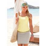 BEACH TIME Plážové šaty, Beachtime žlutá/písková 34