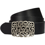 sheego Kožený pásek XL, sheego černá