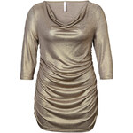 SHEEGO STYLE Tričko, sheego Style zlatá 44/46