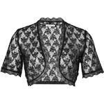 SHEEGO STYLE Krajkové bolerko, sheego Style černá 40