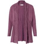 SHEEGO STYLE Úpletový kabátek, sheego Style fialová