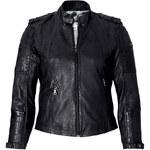 SHEEGO STYLE Kožená bunda, sheego Style černá 40