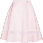 Světle růžová sukně M367 S