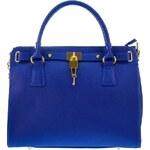 Giulia Massari Dámská kožená kabelka 5244 Blue