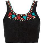 Topshop Folk Embroidered Bralet