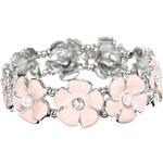 Lipsy Stone Edge Floral Bracelet