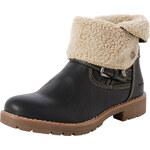 Tom Tailor fake fur boot