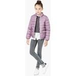 Mango Kids - Dětská bunda Unica 104-164 cm - purpurová