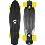 Cruiser PENNY SHOCK Board black/black/yellow 22 ONE SIZE