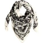 H&M Vzorovaný šátek