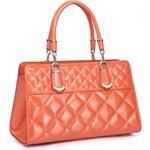Dámská kožená kabelka Nucelle Stylovka oranžová