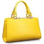 Nucelle dámská kožená kabelka Missi žlutá